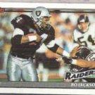 BO JACKSON 1991 Topps #99.  RAIDERS