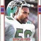 SETH JOYNER 1989 Topps #119.  EAGLES