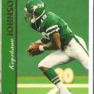 KEYSHAWN JOHNSON 1997 Topps #30.  JETS