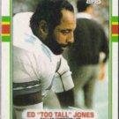 ED JONES 1989 Topps #389.  COWBOYS