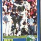 KEITH JACKSON 1989 Score #101.  EAGLES