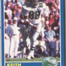 KEITH JACKSON 1989 Score #101.  EAGLES