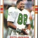 KEITH JACKSON 1989 Topps #107.  EAGLES