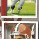 CLAY MATTHEWS 1991 + 1997 Topps.  CLEV / ATL