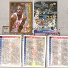 MICHAEL JORDAN (5) Card Lot.  90's