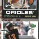 JERRY HARISTON Jr. 2000 UD + 2002 Topps Vintage.  O's