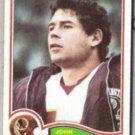 JOHN RIGGINS 1982 Topps #520.  REDSKINS