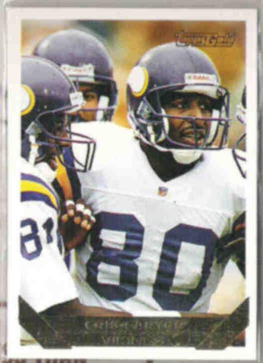 CRIS CARTER 1993 Topps GOLD Insert #284.  VIKINGS