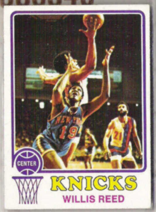WILLIS REED 1973 Topps #105.  KNICKS