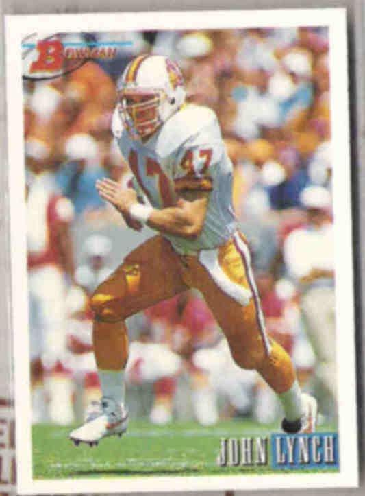 JOHN LYNCH 1993 Bowman #298.  BUCS
