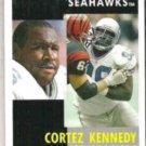 CORTEZ KENNEDY 1991 Pinnacle #242.  SEAHAWKS