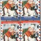 CORTEZ KENNEDY (4) 1990 Asher Stars + Stripes.  SEAHAWKS