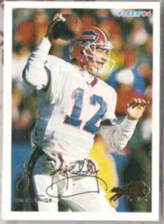 JIM KELLY 1994 Fleer #43.  BILLS