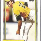 CURT YOUNG 1992 Topps #704.  A's