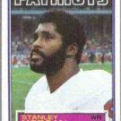 STANLEY MORGAN 1983 Topps #334.  PATRIOTS