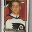 ERIC LINDROS 1992 Topps GOLD Insert #529.  FLYERS
