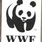 WORLD WILDLIFE FUND Promo Card.  Panini Canada