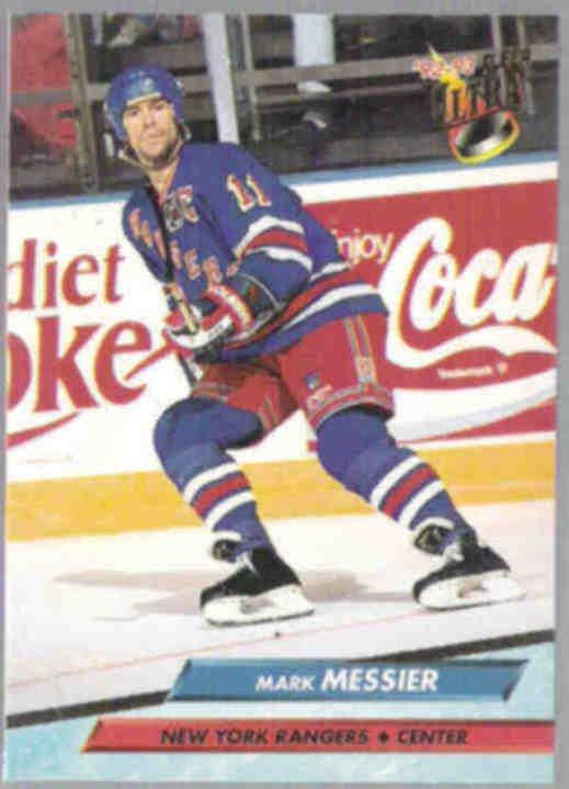 MARK MESSIER 1992 Fleer Ultra #139.  RANGERS