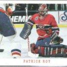 PATRICK ROY 1993 Score #315.  CANADIENS
