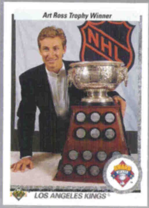 WAYNE GRETZKY 1990 Upper Deck Award #205.  KINGS