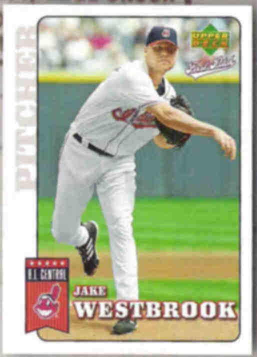 JAKE WESTBROOK 2006 UD First Pitch #56.  INDIANS