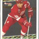 STEVE YZERMAN 1994 Premier Black GOLD Ins #16.  RED WINGS