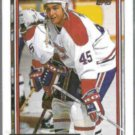GILBERT DIONNE 1992 Topps GOLD Insert #19.  CANADIENS
