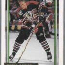 JEREMY ROENICK 1992 Topps GOLD Insert #400.  HAWKS