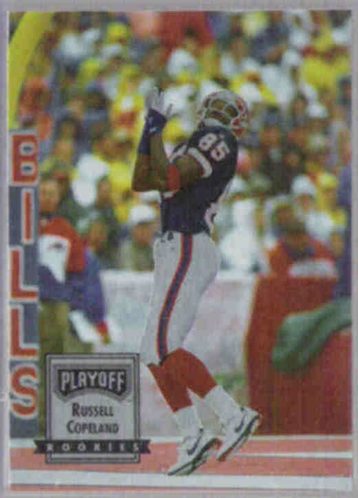 RUSSELL COPELAND 1993 Playoff Rookies #143.  BILLS