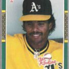 LUIS POLONIA 1987 Donruss The Rookies #25.   A's