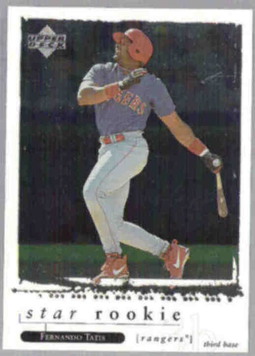 FERNANDO TATIS 1998 UD Star Rookie #270.  RANGERS