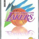 LAKERS 1991 Skybox #363.  Logo Card