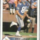 STEVE LARGENT 1992 Pacific Leader Ins #4 of 9.  SEAHAWKS