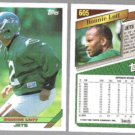 RONNIE LOTT (2) 1993 Topps #605.  JETS