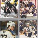 SABRES (4) Card Lot w/ HASEK, May, Ruuttu, Puppa - 90's