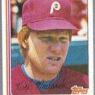 KEITH MORELAND 1982 Topps #384.  PHILLIES