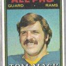TOM MACK 1976 Topps #126.  RAMS