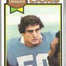 PAUL NAUMOFF 1979 Topps #447.  LIONS