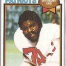 TONY McGEE 1979 Topps #441.  PATRIOTS