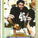 PETE JOHNSON 1980 Topps #153.  BENGALS