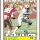 LESTER HAYES 1983 Topps #301.  RAIDERS