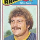RICH SAUL 1977 Topps #246.  RAMS