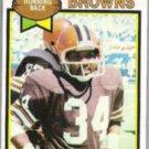 GREG PRUITT 1979 Topps #455.  BROWNS