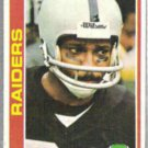 CLIFF BRANCH 1978 Topps #305.  RAIDERS