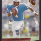 WARREN MOON 1993 Fleer Ultra #171.  OILERS