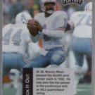 WARREN MOON 1993 Playoff Checklist #1 of 8.  OILERS