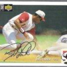 BARRY LARKIN 1994 UD CC Silver Signature Insert #171.  REDS