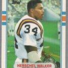 HERSCHEL WALKER 1989 Topps Traded #120T.  VIKINGS