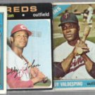 VINTAGE MLB (4) Card Low grd Lot w/ 1966, 1968, 1971, 1972 - Robby++