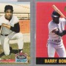 BARRY BONDS 1996 Score Board + BOBBY 1993 SC Ultra Pro